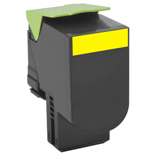 Lexmark Unison 702XY Yellow Toner Cartridge - 70C2XY0
