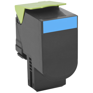 Lexmark 702XCE Toner Cartridge - Cyan