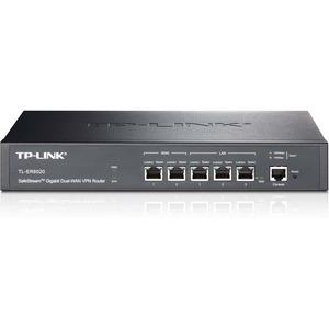 TP-LINK TL-ER6020 Gigabit Dual-WAN VPN Router, 2 WAN ports, 2 LAN ports, 1 DMZ port, Ipsec PPTP L2TP VPN, Load Balance