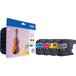 Brother LC-127XLVALBP Ink Cartridge - Black, Cyan, Magenta, Yellow