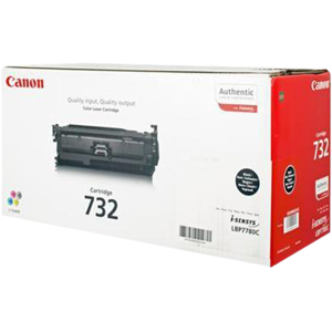 Canon 732BK Toner Cartridge - Black