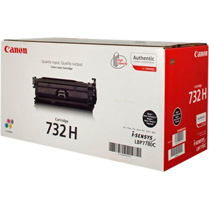 Canon 732HBK Toner Cartridge - Black
