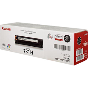 Canon 731HBK Toner Cartridge - Black