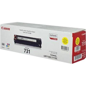 Canon 731Y Toner Cartridge - Yellow