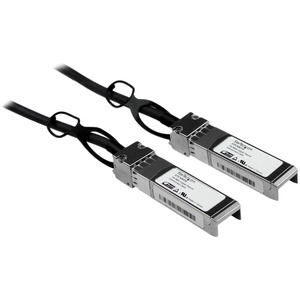 StarTech.com 1m Cisco Compatible SFPplus 10-Gigabit Ethernet 10GbE Twinax Direct Attach Cable
