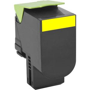 Lexmark Unison 802SY Toner Cartridge - Yellow