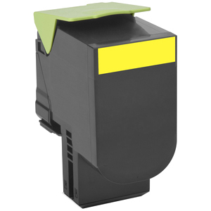 Lexmark Unison 802XY Toner Cartridge - Yellow