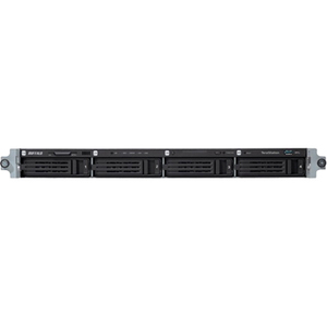 Buffalo TeraStation 4 x Total Bays Network Storage Server - 1U - Rack-mountable - Intel Atom D2700 Dual-core 2 Core - 16 TB HDD 4 x 4 TB - 2 GB RAM DDR3 SDRAM -