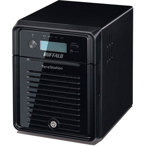 Buffalo TeraStation TS3400D0404 4 x Total Bays NAS Server - Desktop - ARM Dual-core 2 Core 1.33 GHz - 4 TB HDD 4 x 1 TB - 1 GB RAM DDR3 SDRAM - Serial ATA/300 -