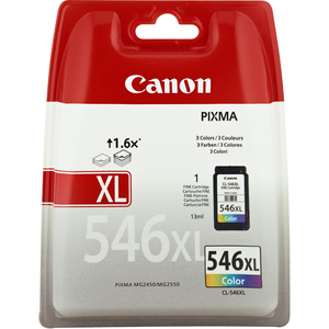 Canon CL-546XL Ink Cartridge - Cyan, Magenta, Yellow