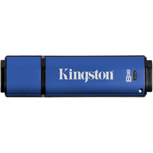 Kingston DataTraveler Vault 8 GB USB 3.0 Flash Drive