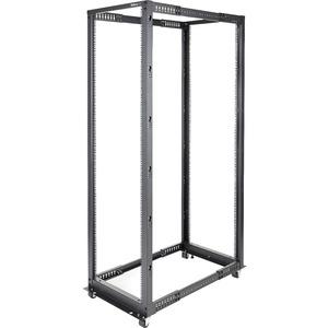 StarTech.com 42U Adjustable Depth Open Frame 4 Post Server Rack Cabinet - 600 kg x Static/Stationary Weig
