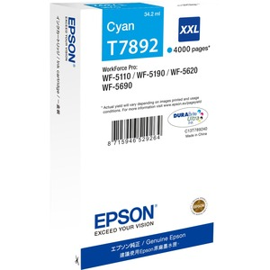 Epson Ink Cartridge - Cyan
