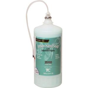 Rubbermaid Commercial Hypoallergenic Hand Soap Refill - Light Passion Flower Scent - 54.1 fl oz (1600 mL) - Hand - White - Moisturizing, Hypoallergenic - 4 / Carton