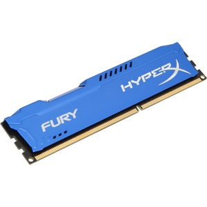Kingston HyperX Fury RAM Module - 8 GB 1 x 8 GB - DDR3 SDRAM - 1333 MHz DDR3-1333/PC3-10666