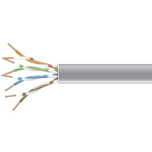 304.8-m 1000-ft. Black Box Corp CAT5e Value Line Solid Bulk Cable PVC - Red C5E-cm-SLD-RD