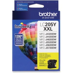 Brother Genuine Innobella LC205Y Super High Yield Yellow Ink Cartridge
