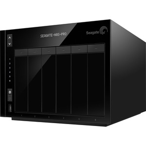 Seagate NAS Pro STDF30000200 6 x Total Bays NAS Server - Desktop - Intel Dual-core