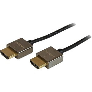 StarTech.com 2m Pro Series Metal High Speed HDMI Cable - Ultra HD 4k x 2k HDMI Cable - HDMI to HDMI M/M