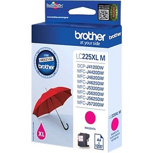 Brother LC-225XLM Ink Cartridge - Magenta