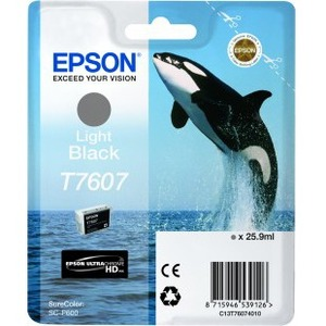 Epson UltraChrome T7607 Ink Cartridge - Light Black