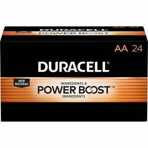 Duracell Coppertop Alkaline AA Battery - MN1500 - AA - 24 / Pack