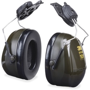 3M™ Peltor™ Optime™ 101 Hard Hat Attachment Earmuff - Black