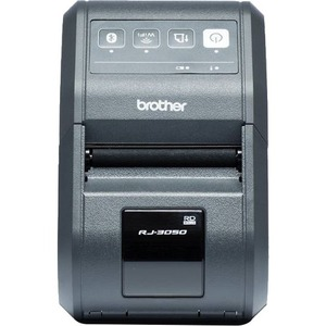Brother RJ-3050 Thermal Transfer Printer - Monochrome - Handheld - Label Print