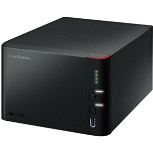Buffalo TeraStation TS1400D0404 4 x Total Bays NAS Server - Marvell ARMADA 370 Dual-core 2 Core 1.20 GHz - 4 TB HDD 4 x 1 TB - 512 MB RAM DDR3 SDRAM - Serial ATA