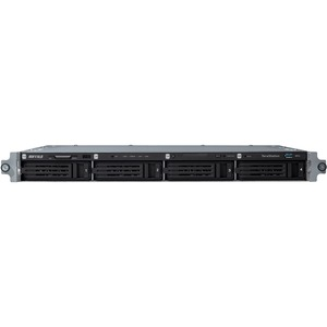 Buffalo TeraStation TS5400RWR1204 4 x Total Bays NAS Server - 1U - Rack-mountable - 1 x Intel Atom D2700 Dual-core 2 Core 2.13 GHz - 12 TB HDD 4 x 3 TB - 2 GB RA