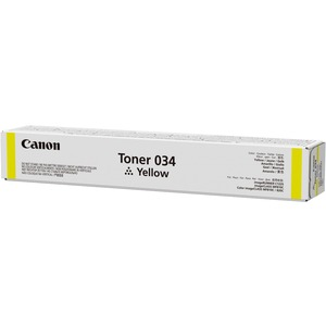 Canon 034 Original Toner Cartridge - 7.3k Yield, Yellow