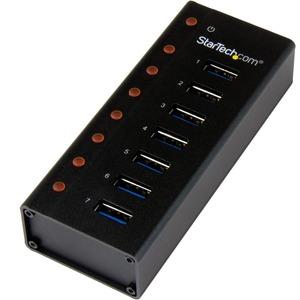 StarTech ST7300USB3B StarTech.com 7 Port SuperSpeed USB 3.0 Hub Desktop USB Hu