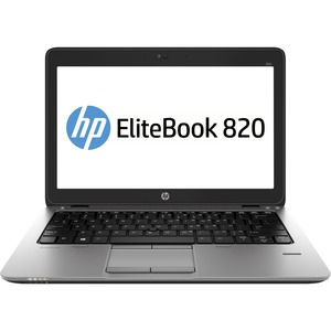 HP EliteBook 820 G2 31.8 cm 12.5inch LED Notebook - Intel Core i5 i5-5200U Dual-core 2 Core 2.20 GHz - 4 GB DDR3L SDRAM RAM - 500 GB HDD - Intel HD Graphics 5500 -