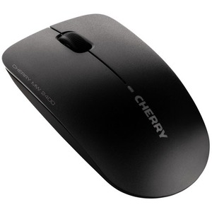 CHERRY MW 2400 Mouse - Optical - Wireless - 3 Buttons - Black