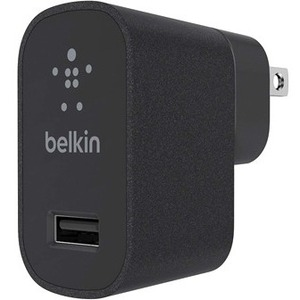Belkin MIXITAndamp;uarr; F8M731 AC Adapter - For Smartphone, iPhone, iPad, USB Device, Tablet PC - 230 V AC Input - 5 V DC/2.40 A Output