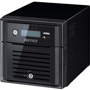 Buffalo TeraStation WS5200DRW2 2 x Total Bays NAS Server - 1 x Intel Atom D2550 Dual-core 2 Core 1.86 GHz - 8 TB HDD - 4 GB RAM DDR3 SDRAM - Serial ATA/300 - RAID