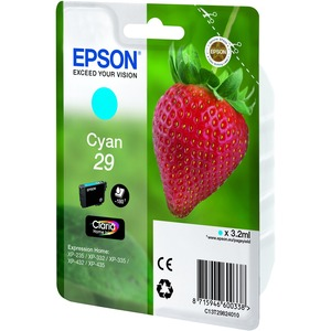 Epson 29 - Cyan - Original - Ink cartridge - for Expression Home XP-235, XP-332, XP-335, XP-432, XP-435