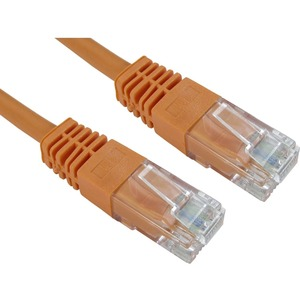 Cables Direct Cat 5e Network Cable - 6m - Orange