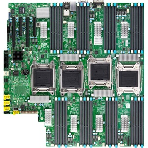 Supermicro X10QBL-CT Server Motherboard - Intel Chipset - Socket R LGA-2011