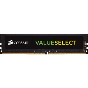 Corsair ValueSelect RAM Module - 8 GB 1 x 8 GB - DDR3 SDRAM - 1600 MHz DDR3-1600/PC3-12800 - 1.35 V - CL11 - 240-pin - DIMM