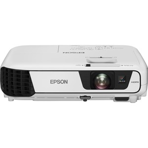 Epson EB-S31 LCD Projector - 4:3 - Front, Ceiling - 200W - 5000 Hour Normal Mode - 10000 Hour Economy Mode