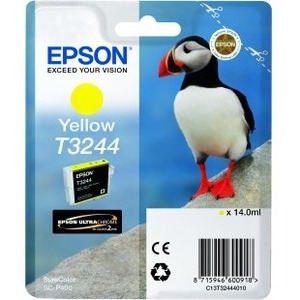 Epson UltraChrome Hi-Gloss2 T3244 Yellow Ink Cartridge