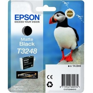 Epson UltraChrome Hi-Gloss2 T3248 Original Ink Cartridge - Matte Black - Inkjet - 1 / Pack