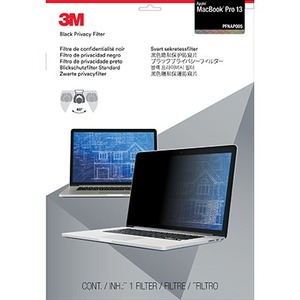 3M PFMP13 Black Privacy Screen Filter - 1 x Box - For 33.8 cm 13.3And#34; Widescreen Notebook