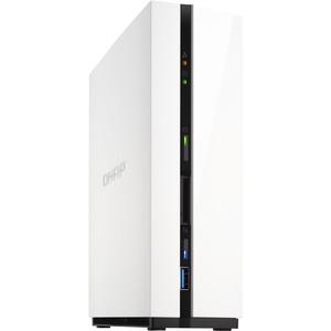 QNAP Turbo NAS TS-128 1 x Total Bays NAS Server - Mini-tower - ARM Dual-core 2 Core 1.10 GHz
