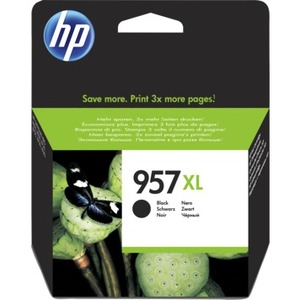 HP 957XL Original Ink Cartridge - Black - Inkjet - High Yield - 3000 Pages