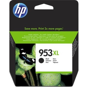 HP 953XL Original Ink Cartridge - Black - Inkjet - High Yield - 2000 Pages