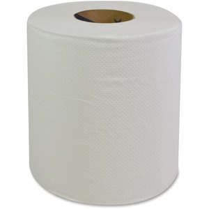 GCN Center Pull Dispenser Paper Towels - 2 Ply - 360 Sheets/Roll - White - Perforated, Center Pull, Absorbent, Strong, Hygienic - For Restroom, Kitchen, Healthcare, Food Servi