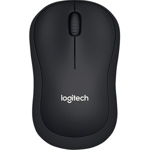 Logitech SILENT B220 Mouse - Optical - Wireless - Black