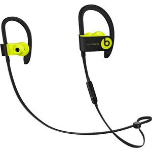 Beats by Dr. Dre Powerbeats3 Wireless Bluetooth Stereo Earset - Earbud, Over-the-ear - In-ear - Shock Yellow